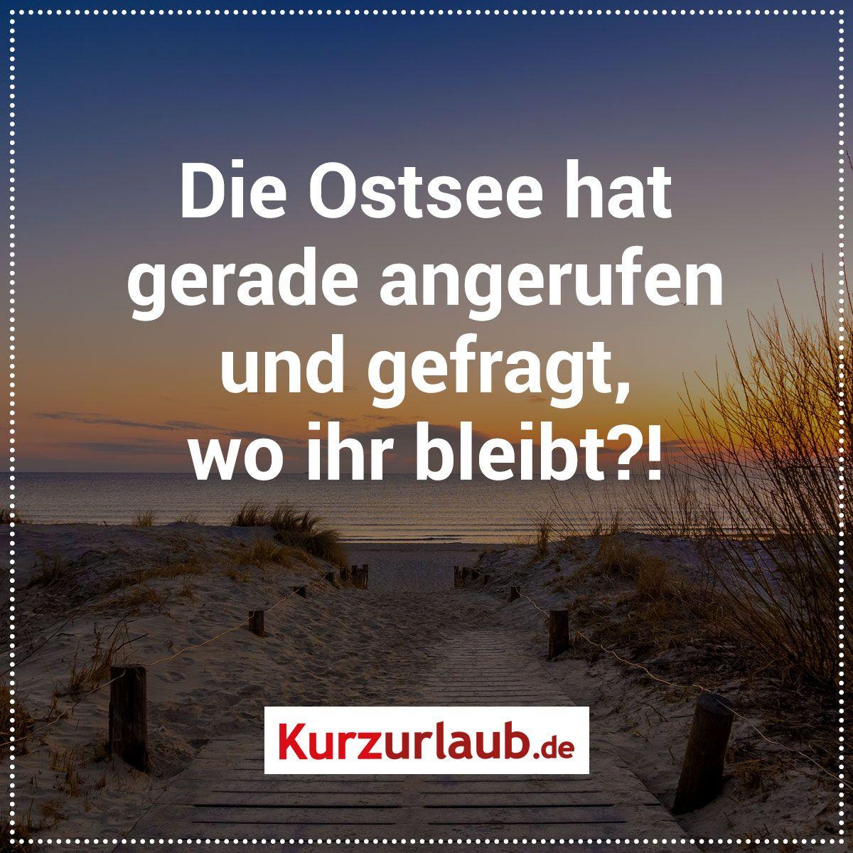 Ostsee Urlaub Spruche Meer An Vakanz Travel Humor Best Quotes