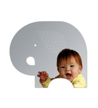 Elephant Mirror...possible accessory for Baby's room :)