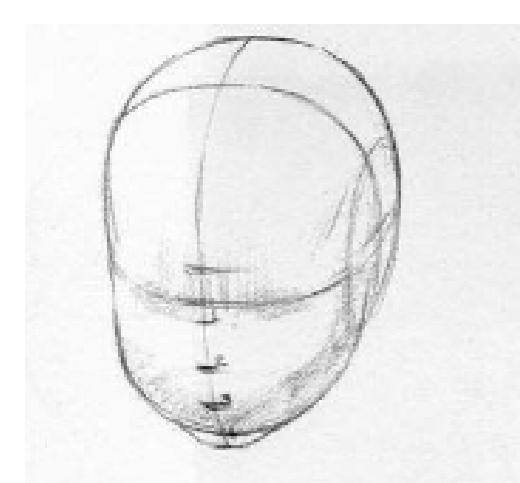 Paso 1 Para Aprender A Dibujar El Rostro De Un Bebe Aprender A Dibujar Como Aprender A Dibujar Como Dibujar Rostros
