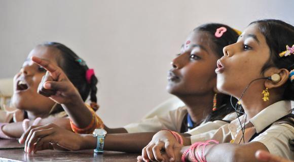 Ammaorg provides 100,000 scholarships for children from desperately