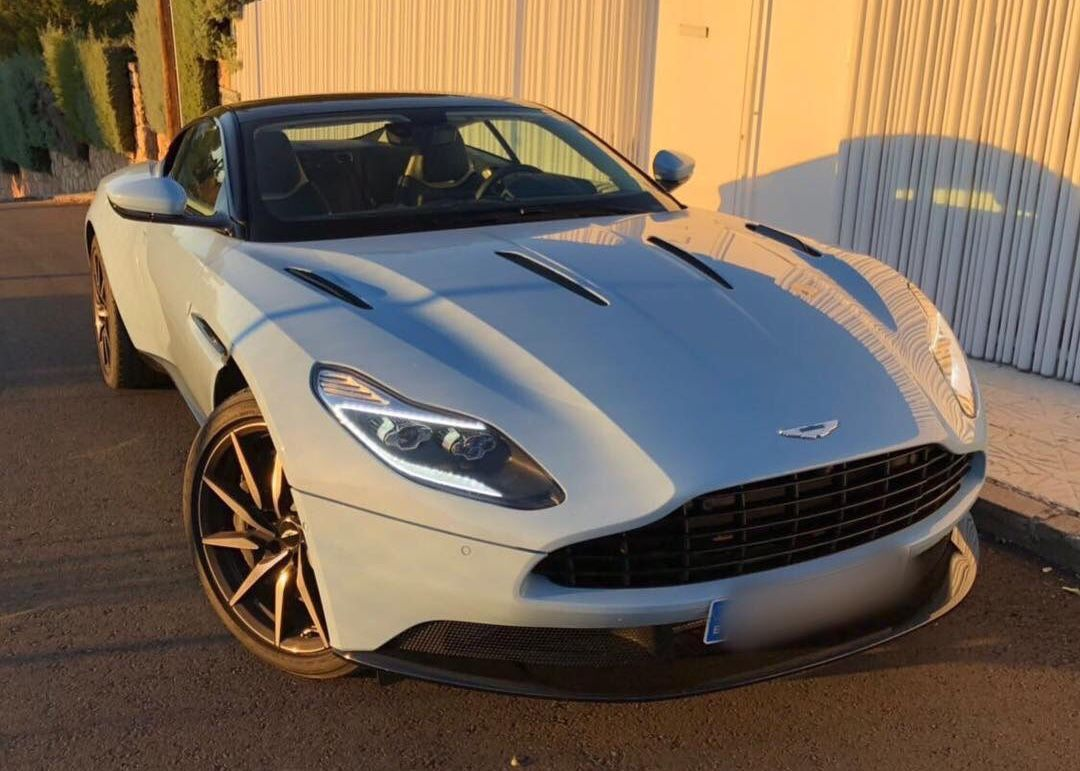 aston martin db11 v12 frosted glass blueq | aston martin | pinterest
