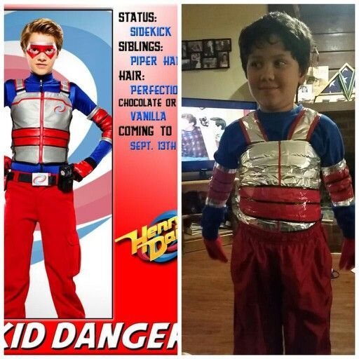 Kid Danger/ Henry Danger Costume | Halloween | Halloween