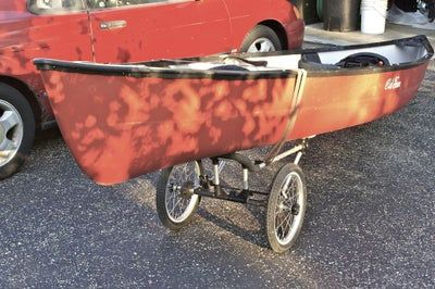Photo of Canoe/Kayak Caddy Mod From a Jogging Stroller
