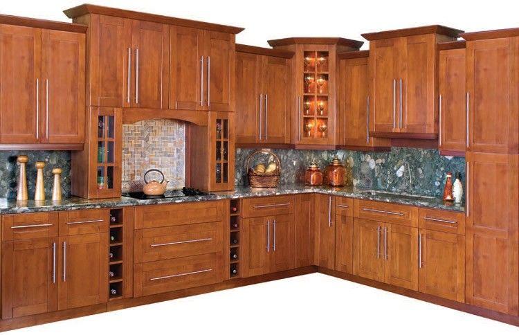 Toscana Shaker Kitchen Cabinet Set Frameless Kitchen Cabinets