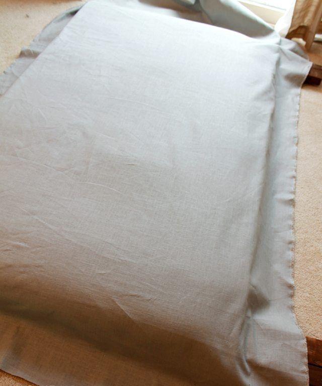 como hacer cabeceros de cama forrar cabecero tela | Como hacer ...