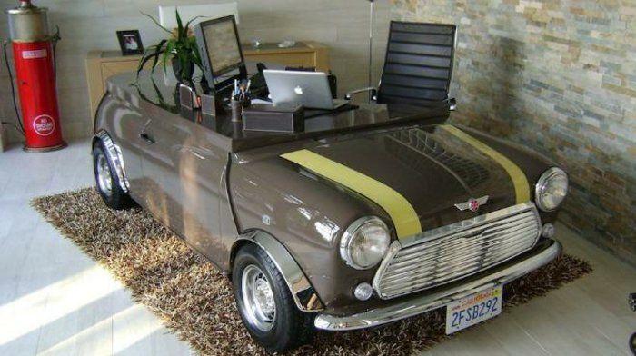 diy m bel aus alten autoteilen f r ihr zuhause ideen die cool sind pinterest autoteile. Black Bedroom Furniture Sets. Home Design Ideas
