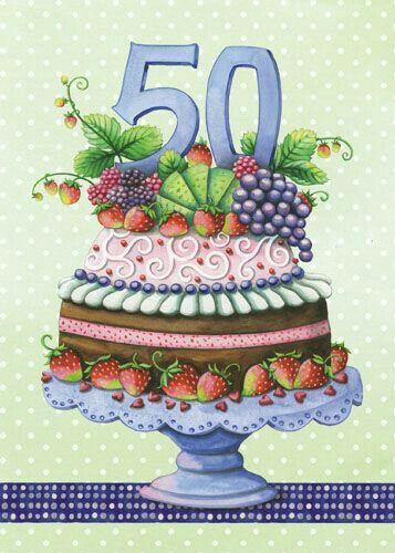 Auguri Di Buon Compleanno 81 Anni.Auguri Per I 50 Anni Cartolina Di Compleanno Biglietti