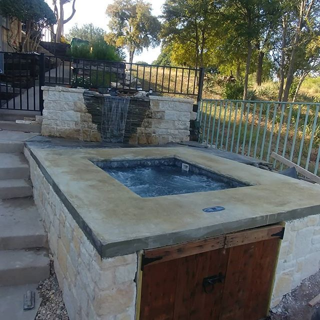 Photo of Plunge pool, what it is, is one of the coolest amenities for your back yard