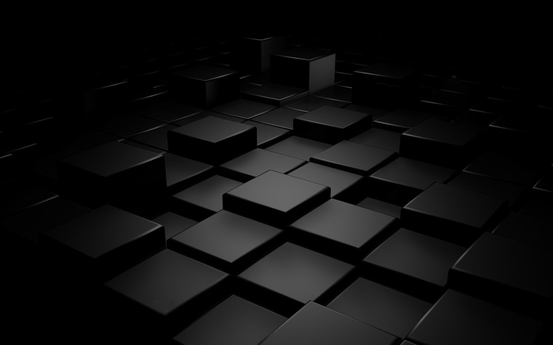 plain black 3d 3 desktop wallpaper hdblackwallpaper com