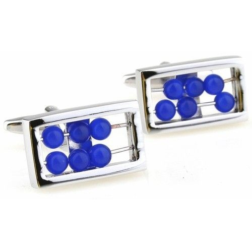 Abacus Counting Cufflinks, Men's