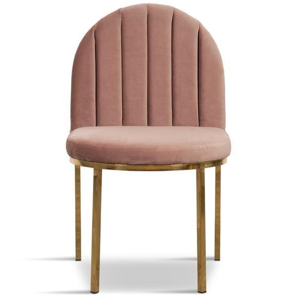 Best 008 Dining Chair In Channel Tufted Velvet Upholstered 400 x 300