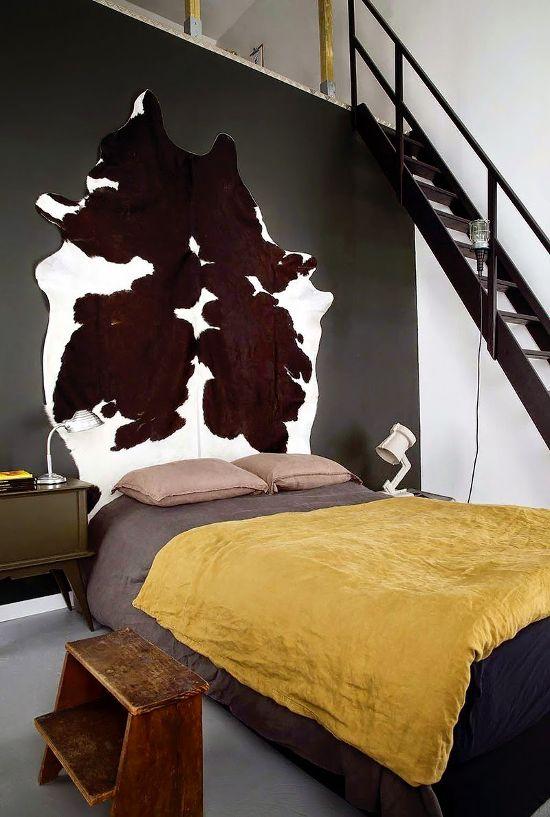 diy - Chambre Mur Noir Paillete