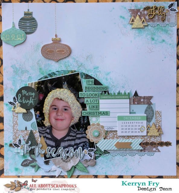 All About Scrapbooks Australia Tis The Season With Kaisercraft Mint