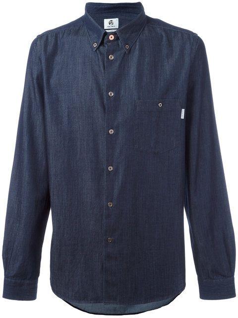 PS BY PAUL SMITH denim shirt. #psbypaulsmith #cloth #shirt
