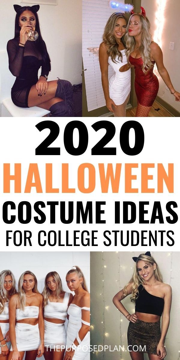 26 Easy College Halloween Costume Ideas in 2020