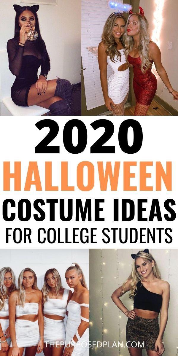 26 Easy College Halloween Costume Ideas in 2020