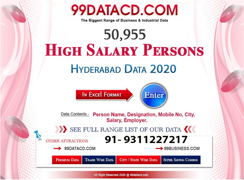 Indian Professional & High Salary Database