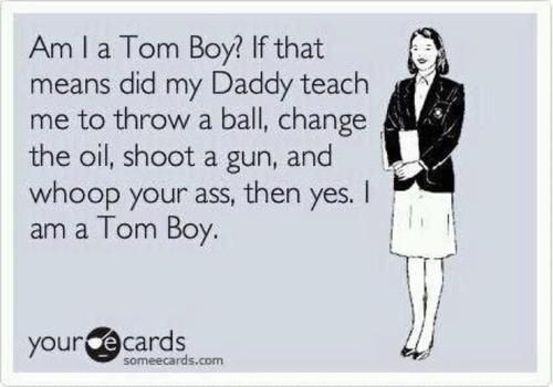 Daddy taught me right