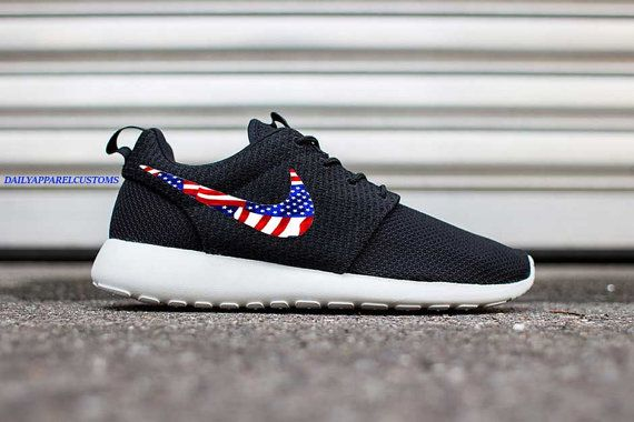 more photos 56c17 9b17d ... discount custom nike roshe run american flag patriotic pride pattern  mens womens fast shipping 8bb6a db738