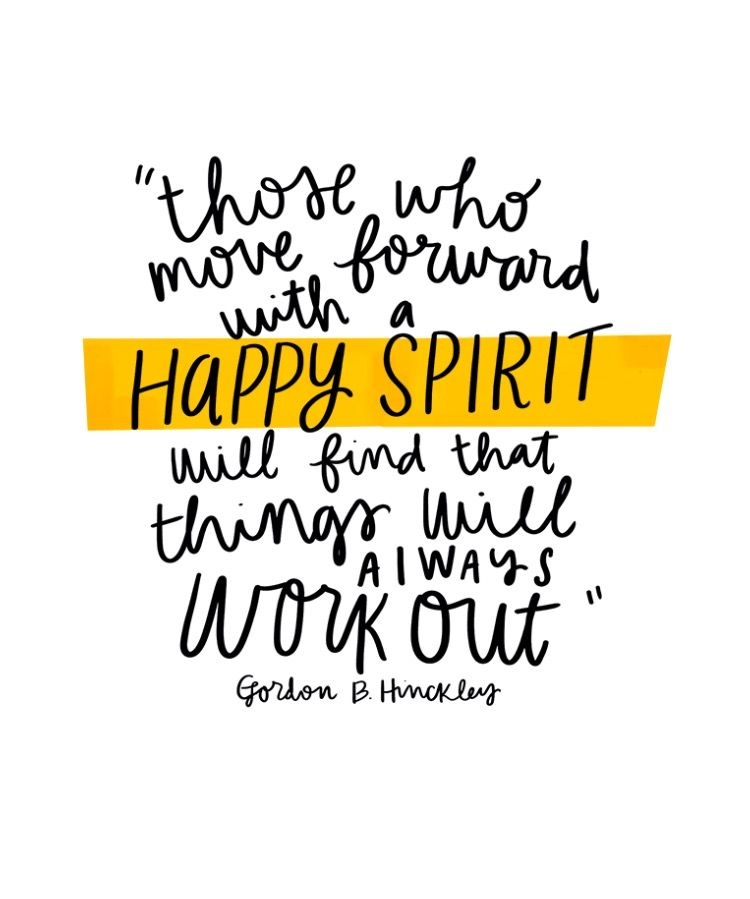Im Happy Quotes Those Who Move Forward With A Happy Spirit Will Find That Things .