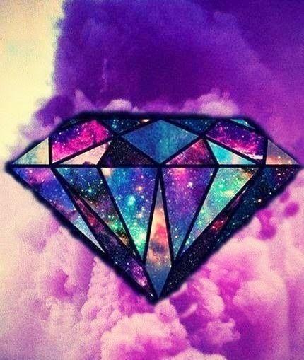Galaxy Diamond Diamond Wallpaper Galaxy Wallpaper Wallpaper Backgrounds Galaxy purple diamond wallpaper