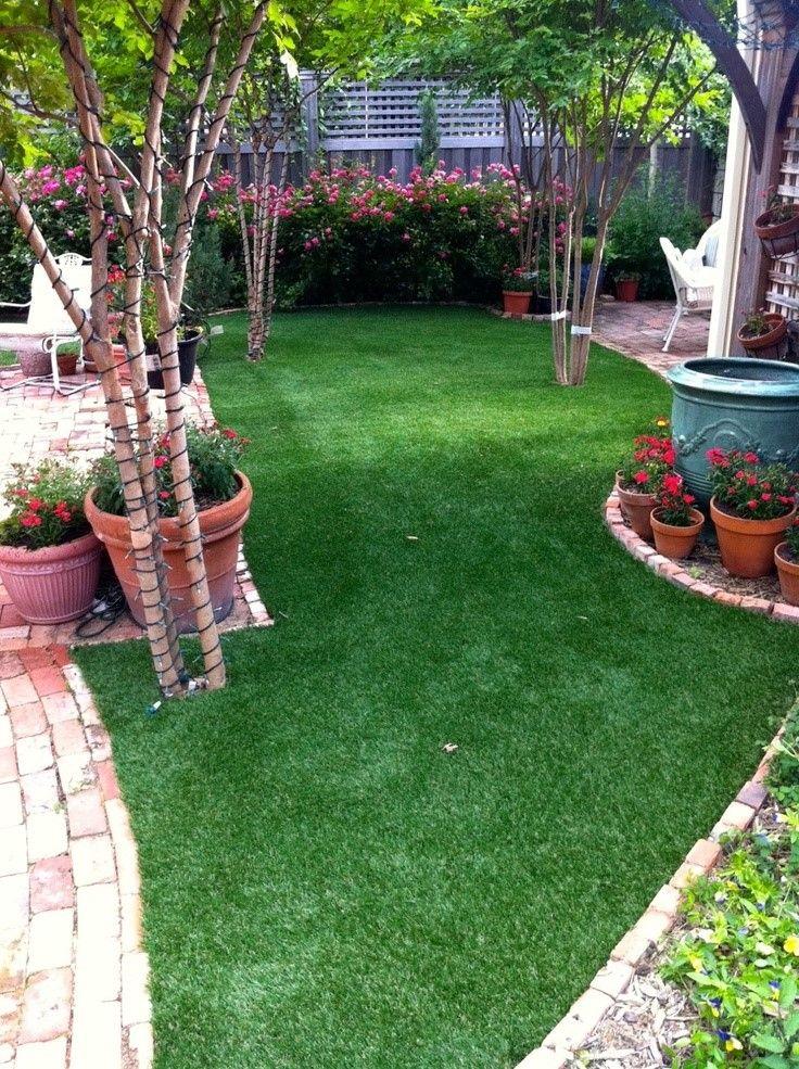 Artificial turf lawn in Dallas, Texas by Texas Elite