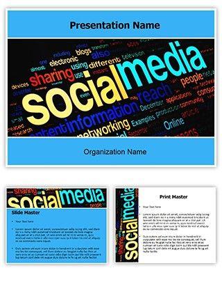 Make great looking powerpoint presentation with our social media make great looking powerpoint presentation with our social media free powerpoint template download social toneelgroepblik Choice Image