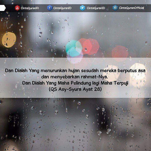 Doa Ketika Terjadi Hujan Lebat Nabi Shallallahu Alaihi Wa Sallam