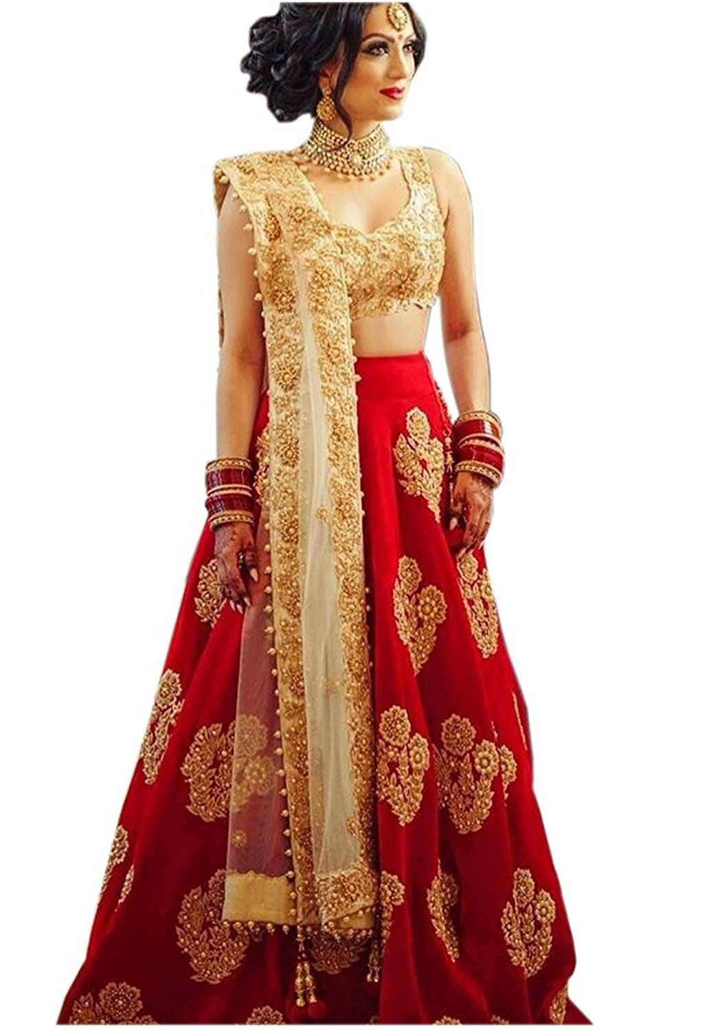 Lehenga for women party wear (choli for wedding function for women ...