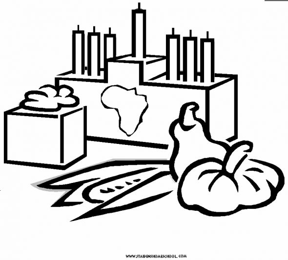 Free Kwanzaa Coloring Pages for Kids | Kwanzaa printables, books and ...