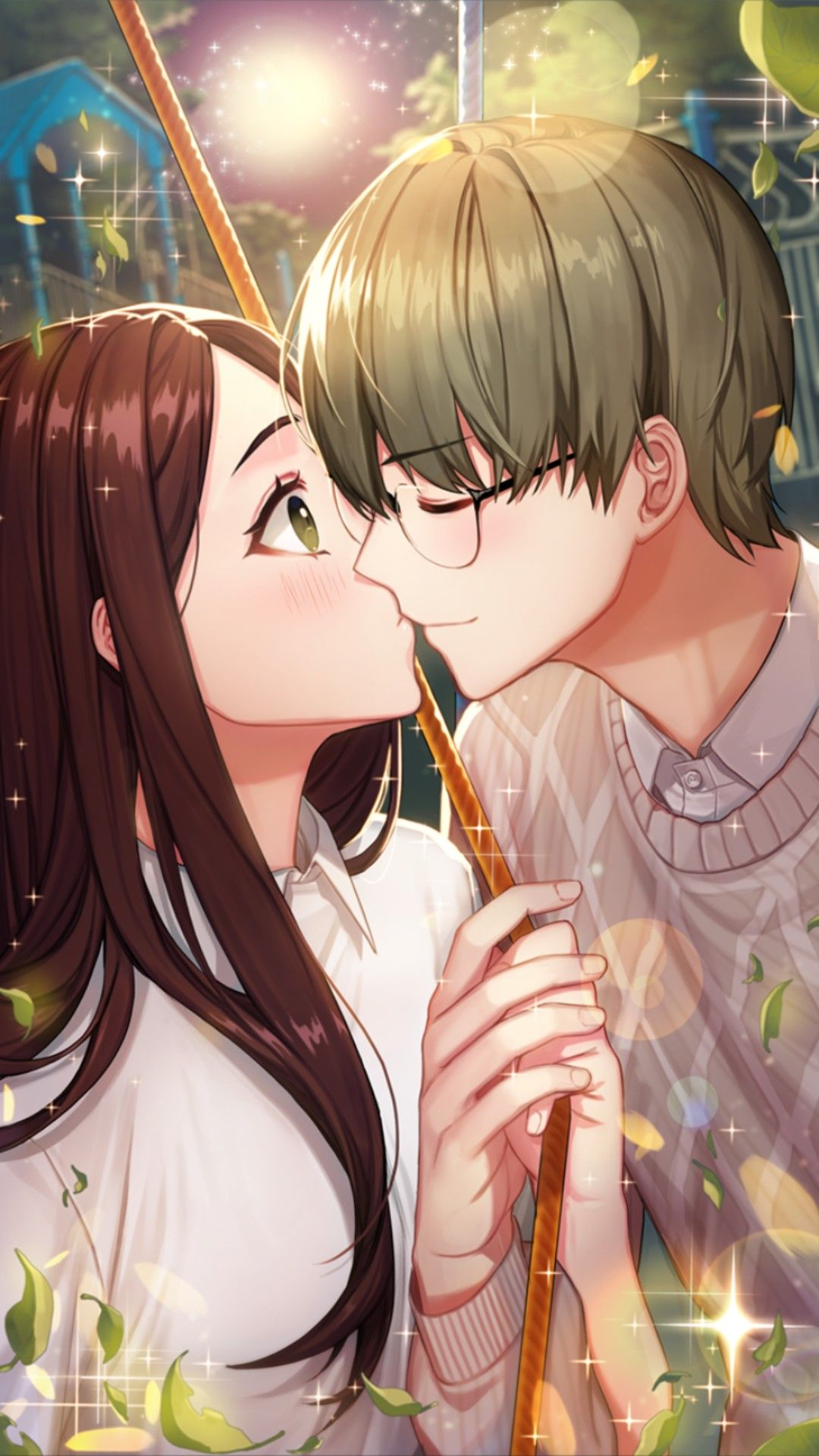Otome Game Loved By King Bs Erick Blanche Happy Ending Webtoon Gambar Gambar Anime