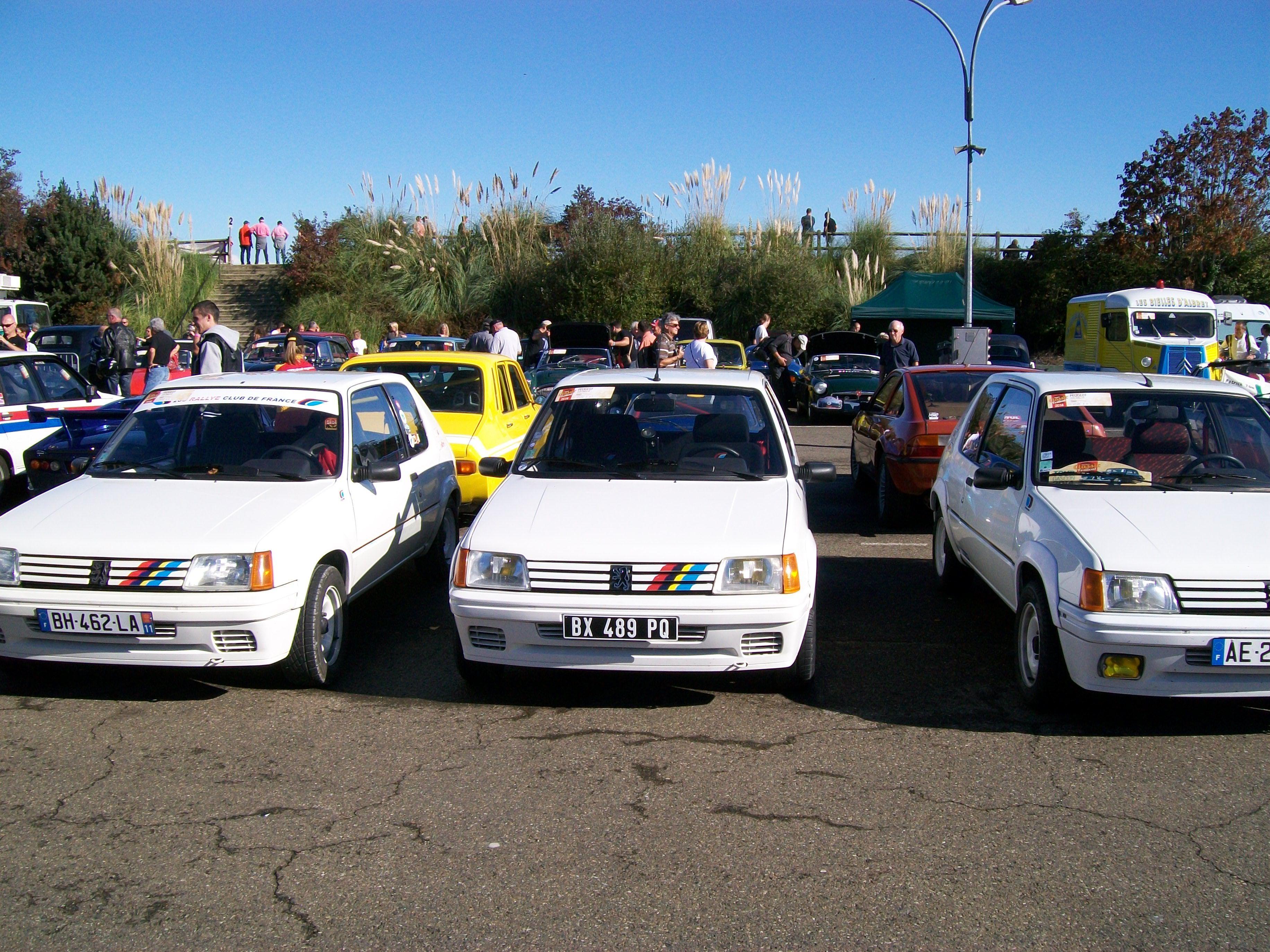 205 Rally Car Vehicles Rally
