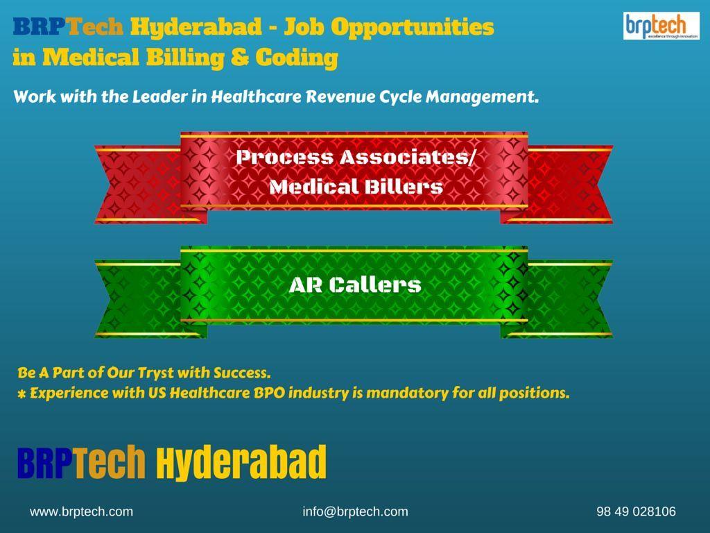 BRPTech Hyderabad Job Opportunities in Medical Billing