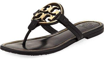 db1888a5e Tory Burch Miller Flat Metal Logo Slide Sandal LOVE these new Millers and  they will sell out  ad