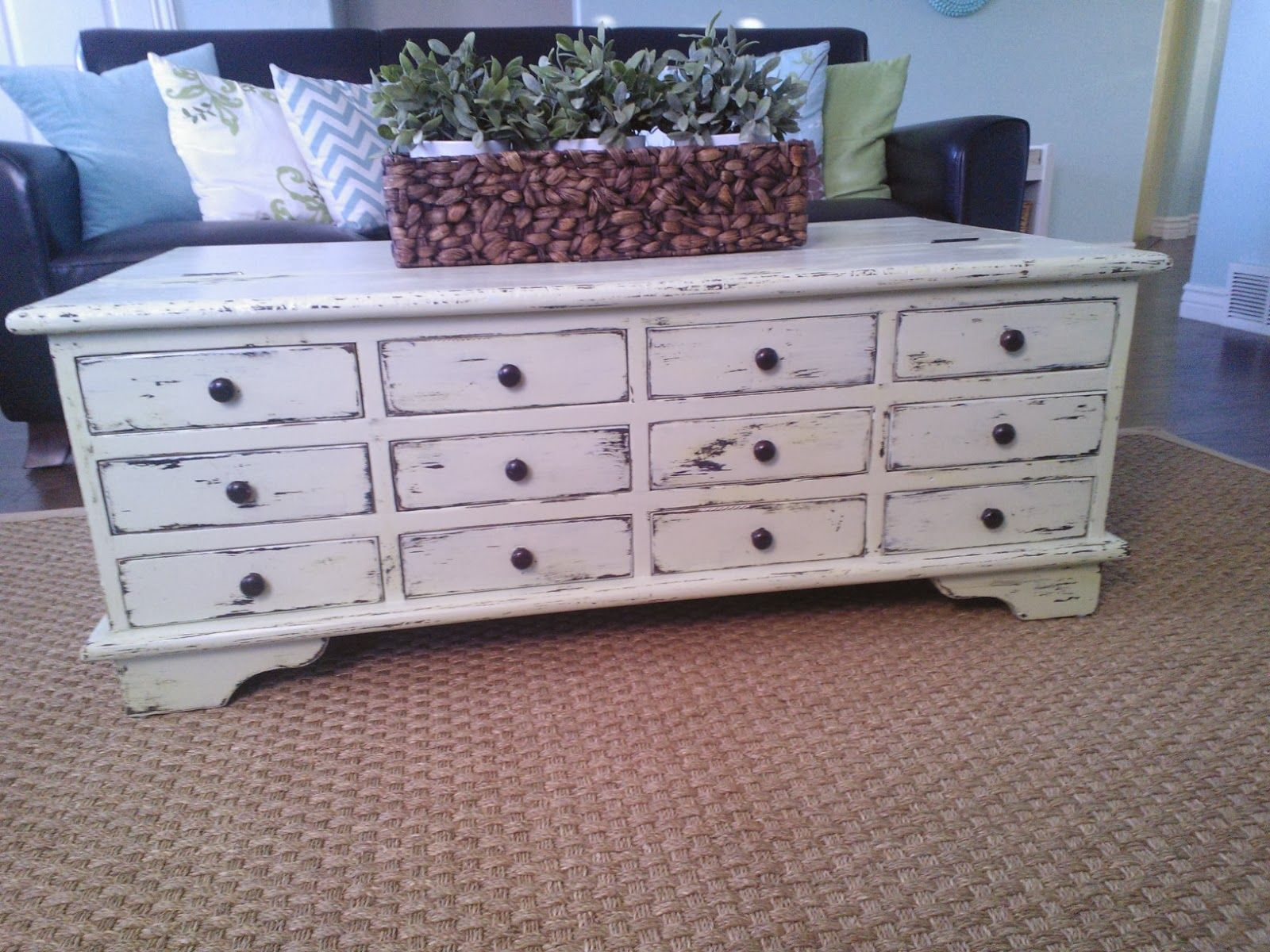 Apothecary Coffee Table Makeover Coffee Table Makeover Home
