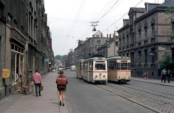 Strassenbahn in Zwickau, 1960er Jahre