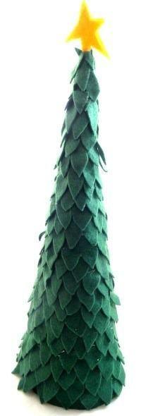 Felt Christmas Tree  Coat Hanger Snowflake — CraftBits.com  #CoatHanger #hangersnowflake