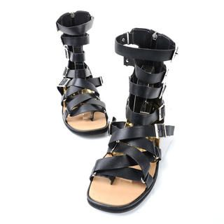 Buy 'deepstyle – Genuine Leather Gladiator Sandals' with Free International Shipping at YesStyle.com. Browse and shop for thousands of Asian fashion items from South Korea and more!