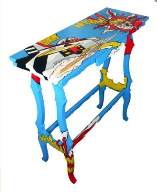 Pop art reciclagem recycle pinterest pop art criado mudo e mudas - Mobiliario pop art ...
