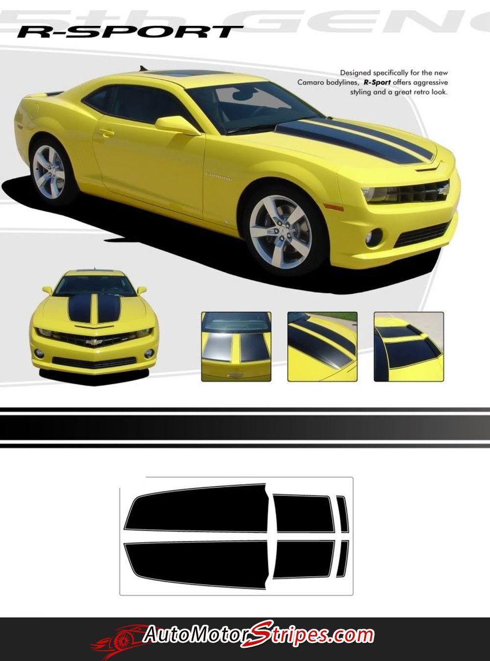 Pin On Chevy Camaro Stripes Camaro Vinyl Graphics Camaro Decals By Automotorstripes