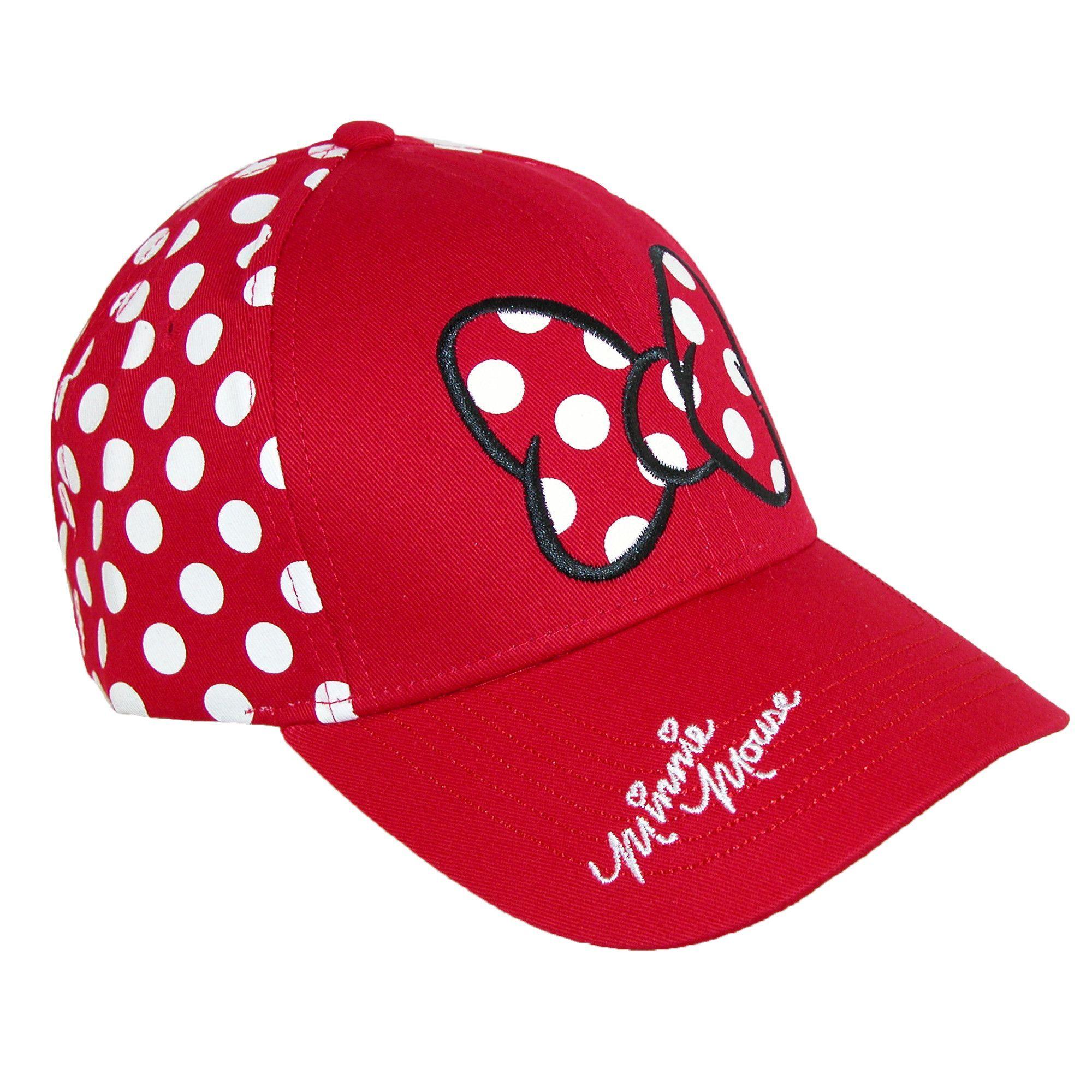 44a06bbdbf0 Disney womens minnie mouse polka dots baseball hat baseball caps jpg  2000x2000 Disney caps