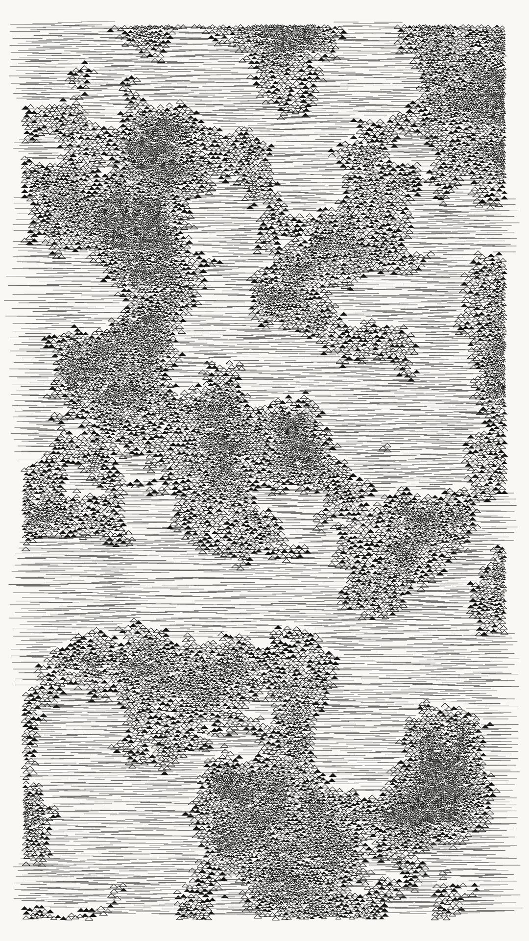 Cellular multiplication algorithm based on a Perlin Noise value