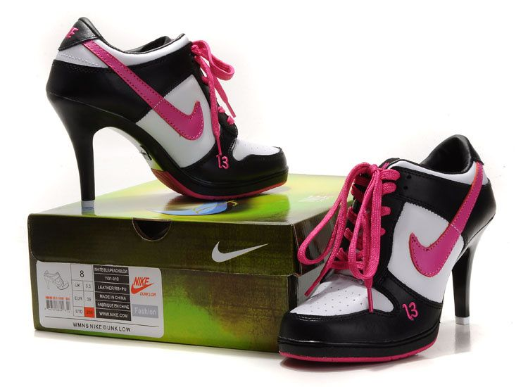 Nike High Heels 2012 Nike Heels For Women Pink White Black