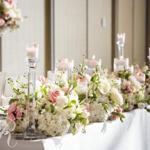 Head table flowers Four Seasons wedding Toronto | beautiful table ...