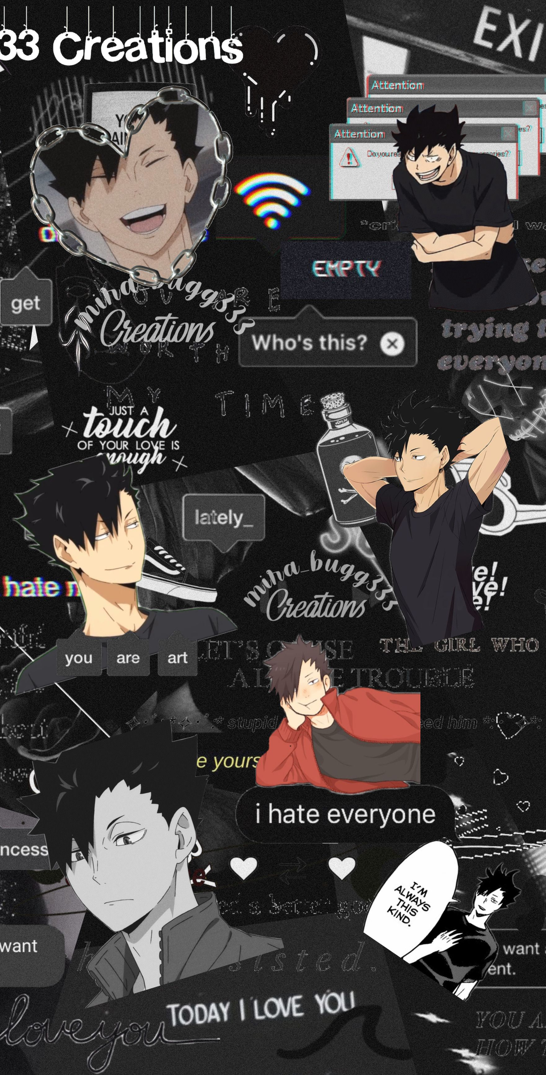 #freetoedit #wallpaper#kuroo#haikyuu#anime#weeb
