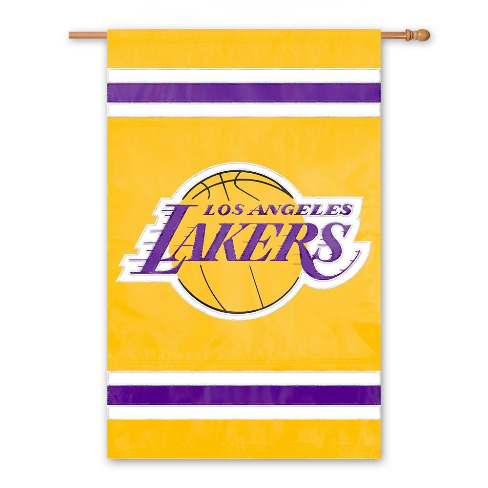 f944576a641 Los Angeles Lakers 2-Sided Banner