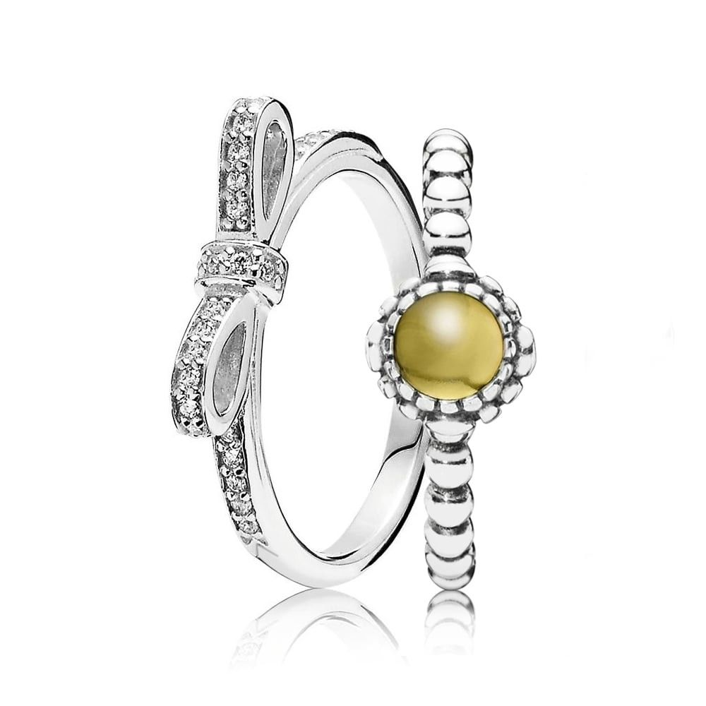 a1e369c1e Pin by Jeyu on Pandora Rings in 2019 | Pandora rings stacked ...