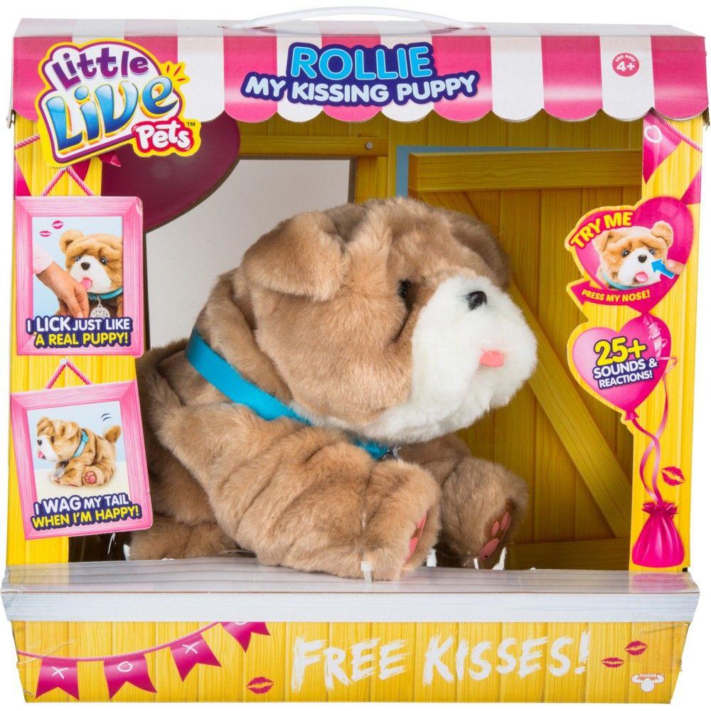 Little Live Pets Bella My Kissing Puppy Target Little Live