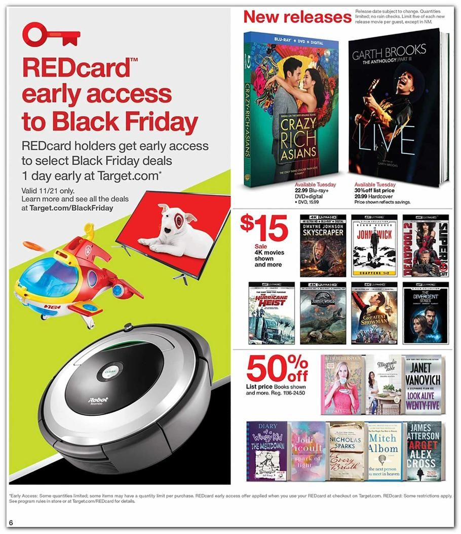 Target 4 Day Pre Black Friday 2018 Ads And Deals