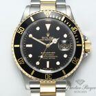 Rolex Submariner Date 16613 T Stahl Gelbgold 750 2006 Automatik Taucheruhr Gold Armband- & Taschenuhren #rolexsubmariner